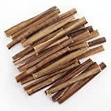 GigaBite 6 Inch Slim All Natural Bully Sticks by Best Pet Supplies - Pack of 25 (PB-06-V-25T)