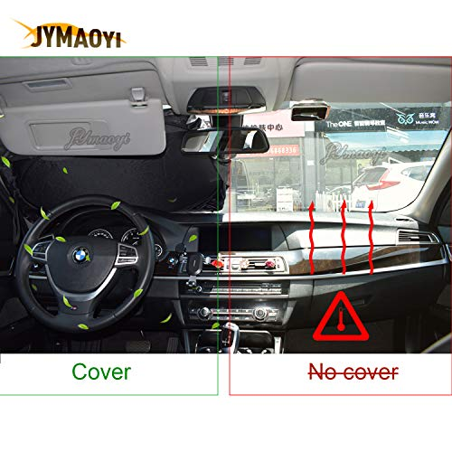JYMAOYI for BMW Sunshade with Suction Cups Windshield Visor Cover Car Window Film Sun Shade UV Protect for BMW 1-Series 2-Series 3-Series 4dr//wgn 2dr 4-Series 2//4dr 6-Series Z3 Z4 8-Series X2