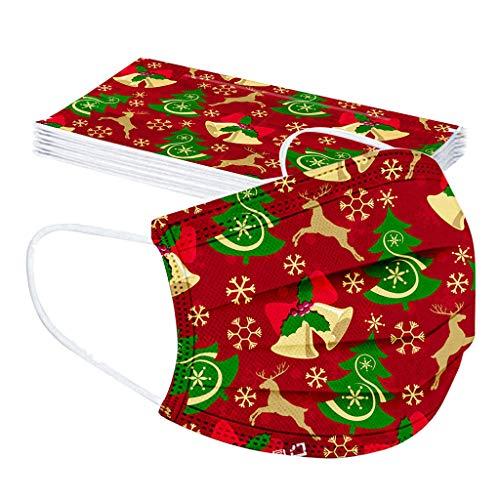 10/20/30/40 Piezas Desechable Niño Dibujos Santa claus Navidad Protección personal...