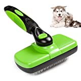 Bartz Cleaning Slicker Brush, Pet Grooming brsuh for Dogs and Cats, Gently Removes Shedding Loose Hair Tangled Matted Fur for Medium Large Dogs and Cats with Short or Long Hair