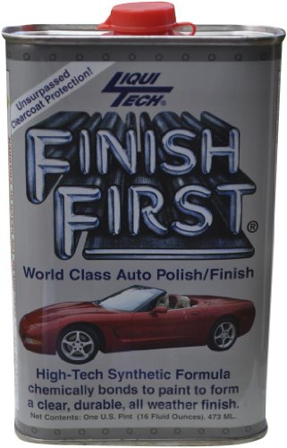 Liqui Tech Finish First Auto Polish 16 oz