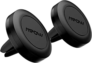 Mpow Handyhalterung Auto Magnet(2 Stücke)Lüftung KFZ Smartphone Halterung Magnet Handy Halterung Auto Magnet Lüftung Handyhalter fürs Auto für iPhone11 pro/XS/XR/X/8/7/6, Galaxy S10/S9/J5/A7,LG,usw