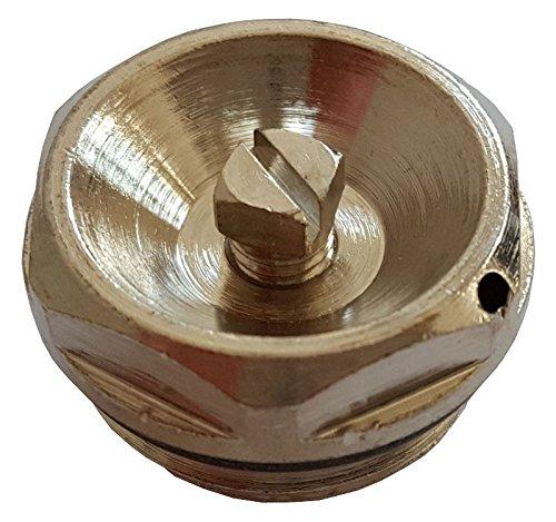 1/2 inch bsp vernikkeld handmatige mechanische koeler ventilatieventiel ontluchtingsventiel
