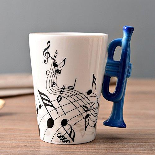 Copa De Vino Taza De Café Taza250Ml Porcelain Trumpet Mugs Coffee Cups Ceramic Personalized Kitchen Drink Ware Unique Gifts F