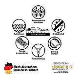 Träumegut24 - K12 Orthopädische 7-Zonen Kaltschaummatratze - Matratze Härtegrad H2 & H3 - Rollmatratze (90 x 200 cm, H2 & H3) - 7