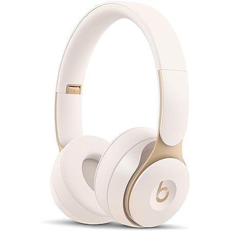 Beats Solo Pro Wireless Noise Cancelling On-Ear Headphones - Ivory (Renewed)