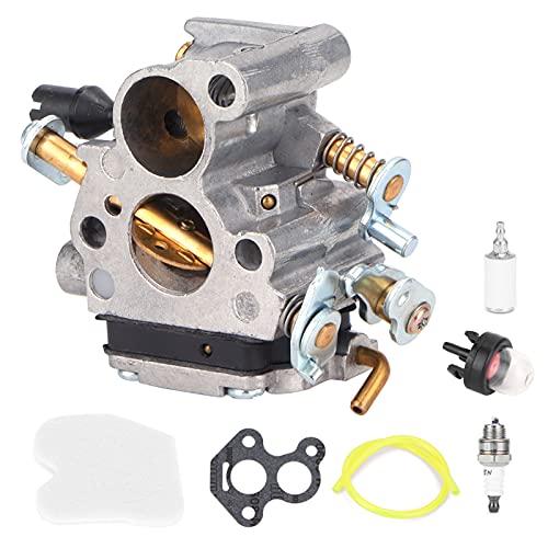 AUNMAS Juego de Repuesto de carburador para Motosierra Husqvarna 235 235e 236240240 E 574719402 545072601