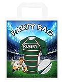 Bolsas de fiesta temáticas de rugby, para regalos, botín, eventos, colores Leicester Tigers (Pack de 6)