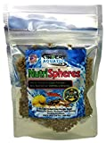NutriSpheres - Sinking Diet for Snails, Shrimp & Bottom Feeding Fish (3 oz (85g))