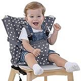 Baby Sitzbezug Reise Kleinkind Hochstuhl Sicherheits Gurt Tragbar Säugling Sack Gürtel,Grau