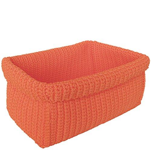 laroom 13287 – Panier, Couleur Orange