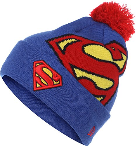 New Era Chapeau d'hiver Beanie - HERO MARVEL Superman
