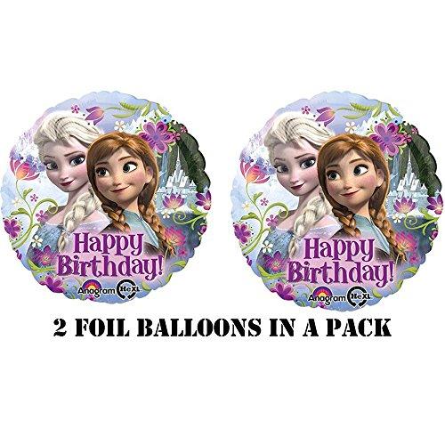 Ballon aluminium La Reine des Neiges™
