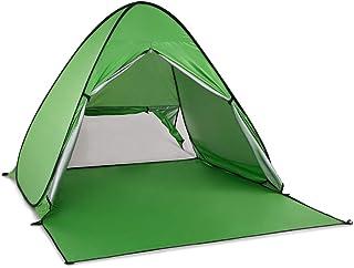 テント ワンタッチテント Rakuby サンシェード ポップアップテント 2-3人用 3色選択可 フルクローズ 日よけ UPF50+ アウトドア用品 ビーチ プール お花見 公園 海水浴など用「幅165奥行150高さ110cm」