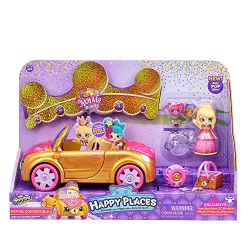 Shopkins Happy Places Royal Convertible