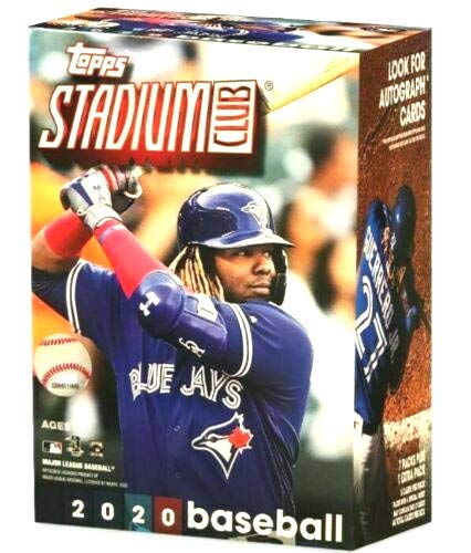 2020 Topps Stadium Club MLB Baseball BLASTER box (8 pks/bx)