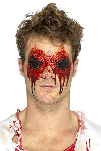 SMIFFY 'S 46806 Latex Zombie ogen prothese-trekker –, Flesh, One size
