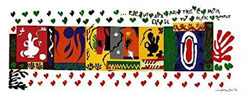 1art1 Henri Matisse - Las Mil Y Una Noches Póster Impresión Artística (100 x 50cm)