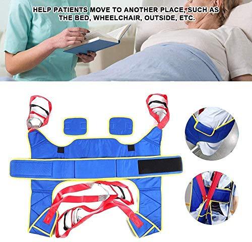 51ioFOoSStL - CARLAMPCR Eslinga de Inodoro Elevador de Pacientes,Equipo de elevación médica,Honda de Pierna Dividida con Abertura para Inodoro para Enfermería