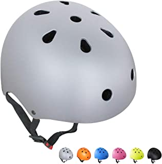 67i 自転車 ヘルメット 子供 大人兼用 スケートボード アイススケート サイクリング 通学 スキー バイク 保護用ヘルメット 超軽量 サイズ調整可能 保護用ヘルメット