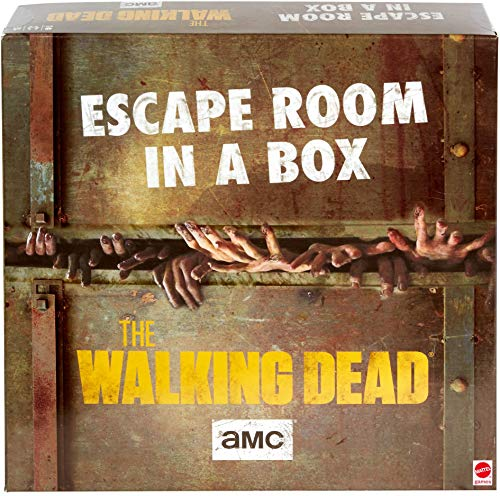 Escape Room in a Box:The Walking Dead Board Game, Party Game for 4 to...