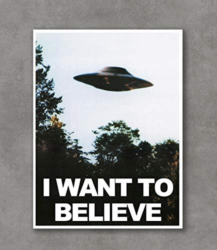 Kai'Sa I Want to Believe Poster Art Print Posters,18''×24'' Unframed Poster Print