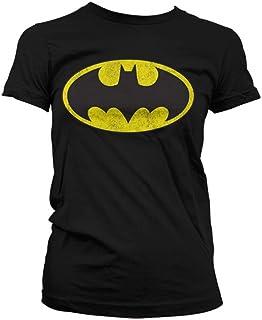 Da Uomo DC Comics UFFICIALE Classico Batman Simbolo Crew T-shirt a manica corta Film TOP