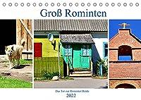 Gross Rominten - Das Tor zur Rominter Heide (Tischkalender 2022 DIN A5 quer): Das heutige Gesicht eines alten Dorfes in Ostpreussen (Monatskalender, 14 Seiten )