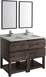 Best 48 double sink vanity top Reviews