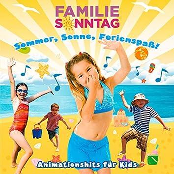 Sommer, Sonne, Ferienspaß! Animationshits für Kids