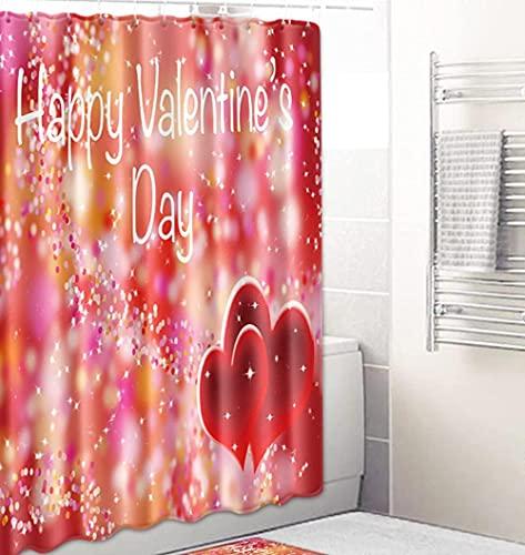 Verträumte Buchstaben Duschvorhänge Wasserdicht Badvorhänge Duschbad Vorhang Form Badvorhang Mit 12 Haken 180 X 180Cm