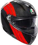 AGV Sportmodular PLK Stripes Carbon - Casco modular