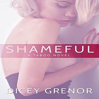 Shameful audiobook cover art