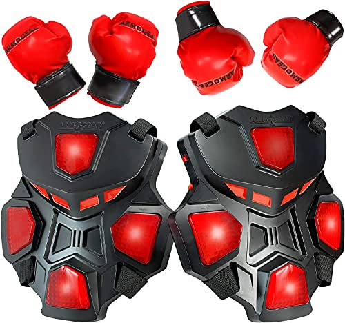 Product Image of the ArmoGear Electronic Boxing Toy for Kids | Interactive Boxing Game with 3 Play...