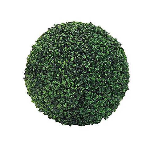 40/36/28 cm Buchsbaumkugel Künstlich Buchsbaum Kugel Formschnitt Kunstpflanze Dekopflanze Buchskugel Künstliche Pflanze für Hochzeit Weihnachten Home Decor