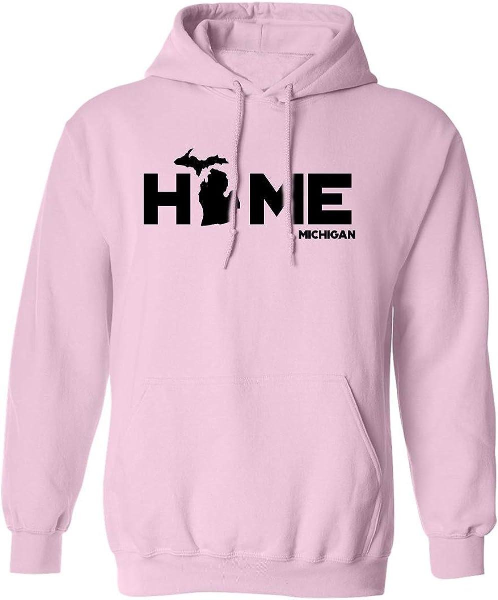 zerogravitee Michigan Free shipping Columbus Mall  Home Adult Hooded Sweatshirt