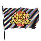 Wyld Stallyns Regla Adorn Bandera Americana 3 x 5 al aire libre bandera de jardín bandera bandera de Estados Unidos bandera decorativa bandera de 3 x 5 pies