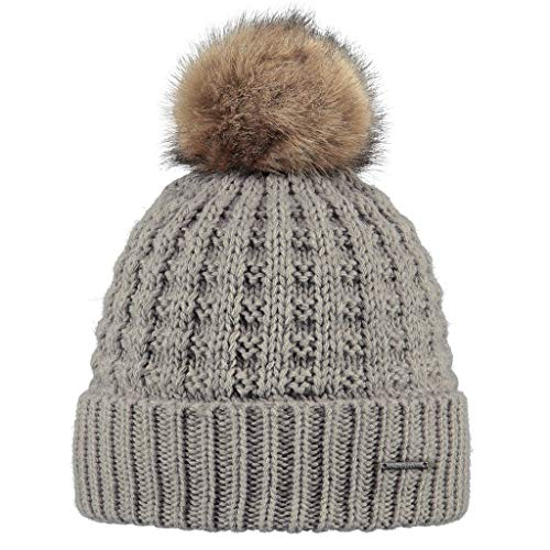 Barts Damen Baskenmütze Filippa, Beige (Taupe), One size (Herstellergröße: Unica)