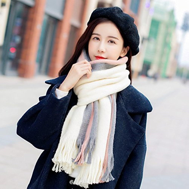 DEED ScarfWoman Winter Scarf Thick Warm Knit Scarf Long Scarf Shawl AllMatch
