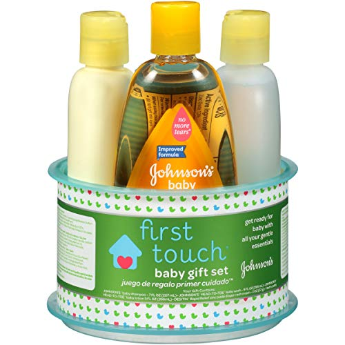 Johnson?s First Touch Gift Set, 4 Items