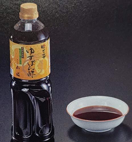 味百華 ゆずポン酢 1.8L×6本 業務用 板長お薦め品 ぽん酢 柚子