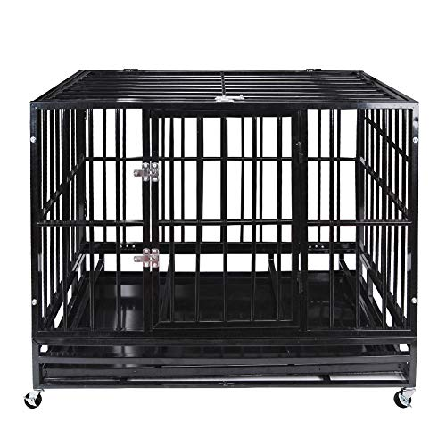 7. Polar Aurora Heavy Duty Pet Dog Cage
