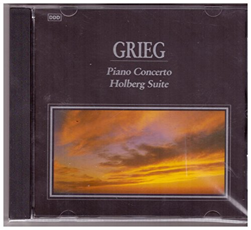 GRIEG. PIANO CONCERTO & HOLBERG SUITE. 1991 IMPORT CD. SYCD 6025