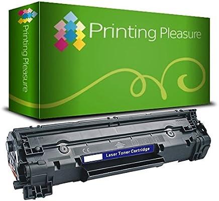 Printing Pleasure Toner Compatibile CF283A 83A Cartuccia Laser per HP Laserjet Pro MFP M125a M125nw M126a M126nw M127fn M127fw M128fn M128fw M225dn M225dw M201dw M201n M202dw M202n - Nero, Alta Resa
