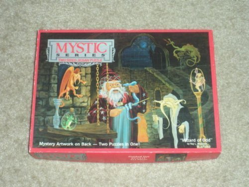 Mystic Series Two SIded Jigsaw Puzzle Wizard of Odd, 513 pieces by Mystic Series