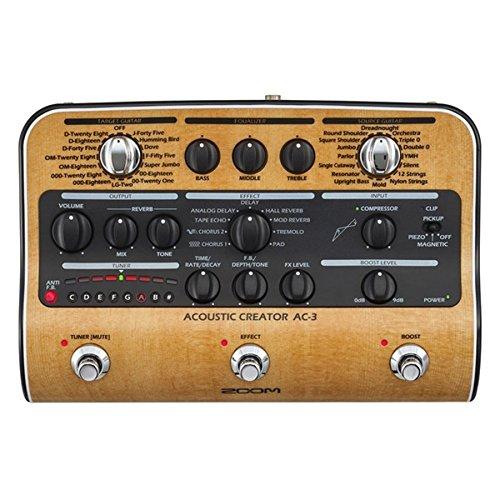 Zoom AC-3/IFS Preamp für Akustikgitarre