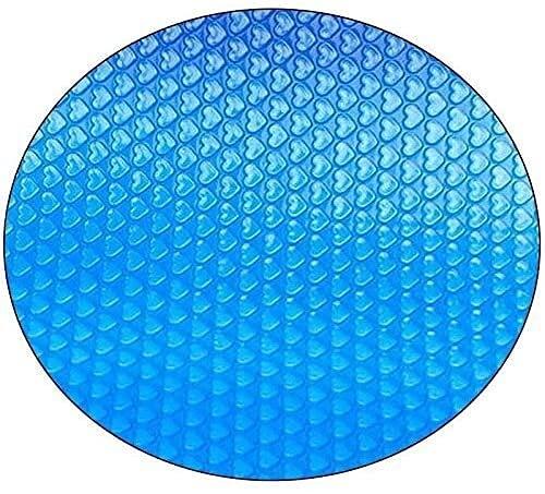 Protector de cubierta de la piscina cubierta cubierta solar para piscinas de marco redondo, cubierta de la piscina para piscinas inflables redondas sobre el suelo Easy Set y Marco Pools Cubierta de pi
