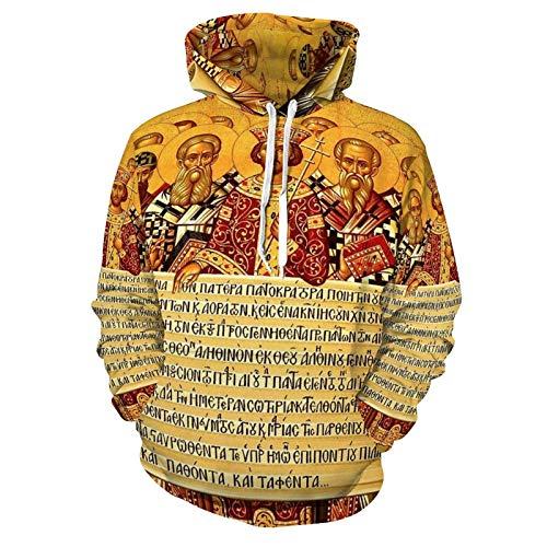 Unisex Fashion 3D Digital Printed Clothes Sweatshirts Adult Pullover Hoodies Adherence to The Nicene Creed - Men Women