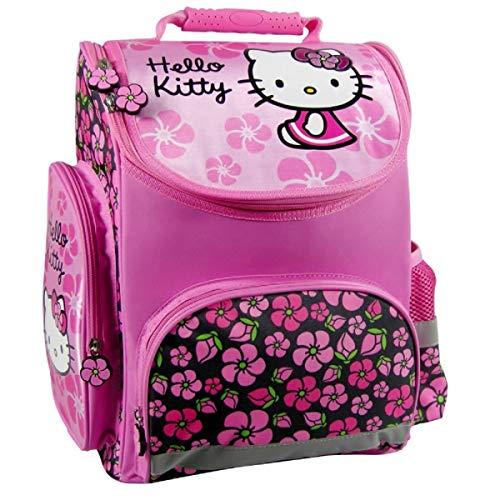 Hello Kitty ,  Schulranzen rosa Rose