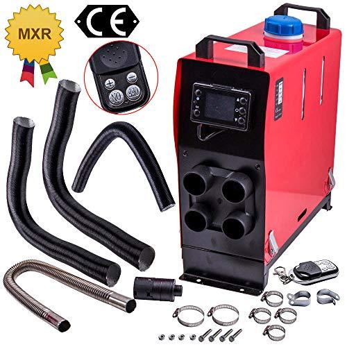 maXpeedingrods 112V 2-8KW 4-Löcher Luft Diesel Luftheizung Air heater Heizung Standheizung LKW Pickup Bus LCD Fernbedienung
